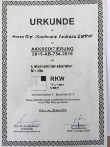Akkreditierung-RKW-Thüringen