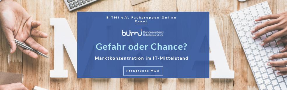 BITMI e.V. Fachgruppen Online Event